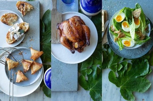 Delicious chicken meals. (Photo: MISHA JORDAAN)