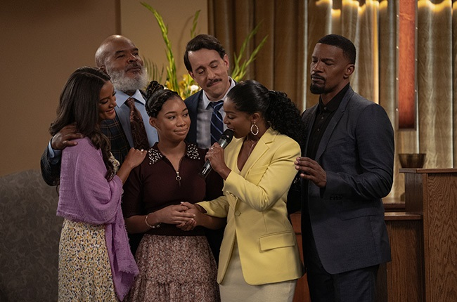 Heather Hemmens as Stacy, David Alan Grier as Pops