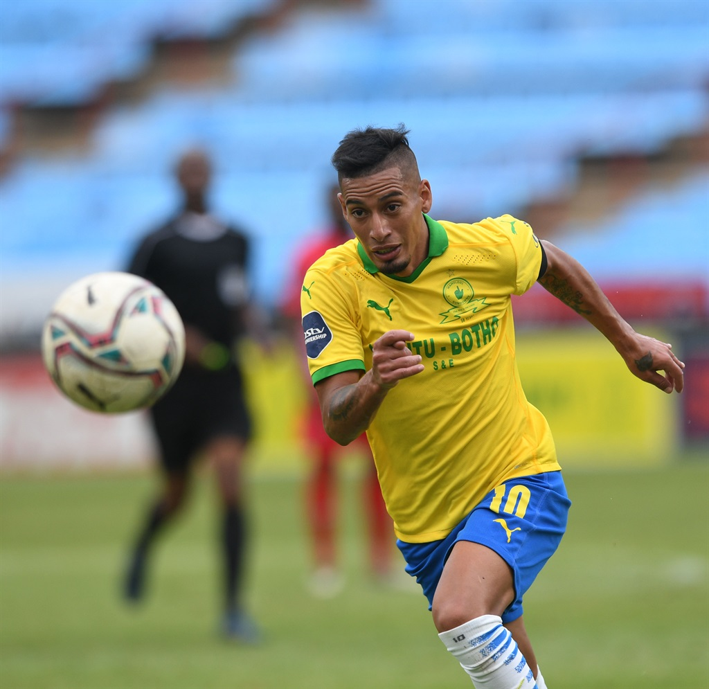 Gaston Sirino of Mamelodi Sundowns during the DStv