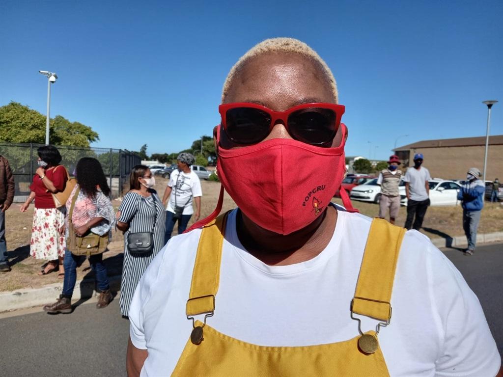 Buyiswa Matika, Popcru gender co-ordinator for Western Cape.