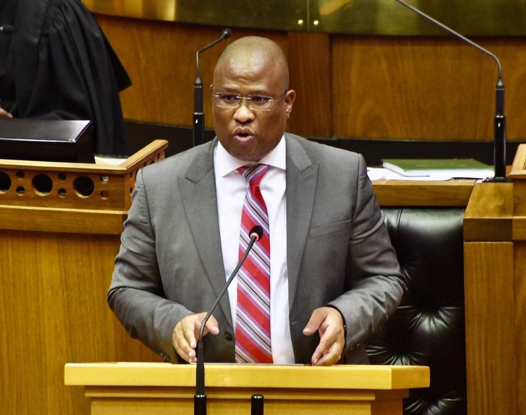 Eastern Cape Premier Oscar Mabuyane. (GCIS)
