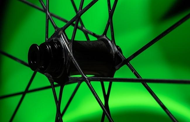 Scott carbon mountain bike wheel