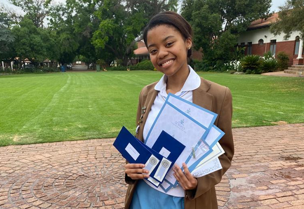 Mijelo Nqoma from East London attained six distinctions becoming the third top pupil at the prestigious St Mary's DSG in Pretoria.