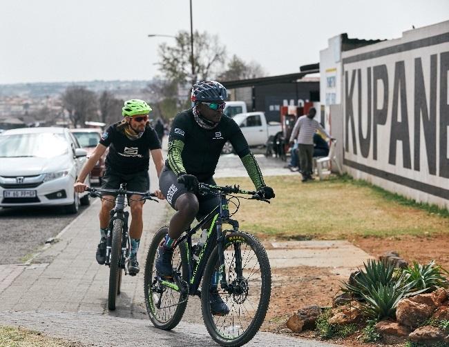 Soweto cycling pride