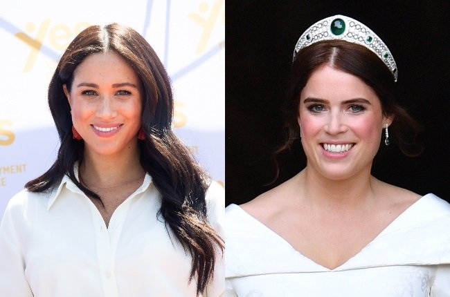 Despite their different backgrounds, Meghan Markle and Princess Eugenie have bonded over their love for Prince Harry and babies. (Credit: Gallo Images/Getty Images)