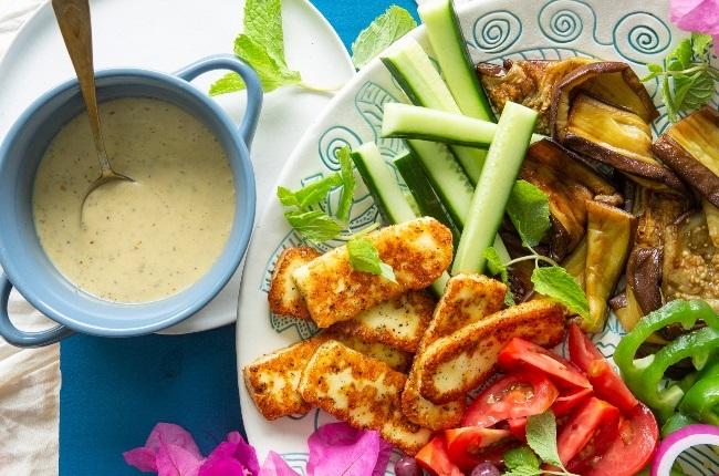 DIY Mediterranean salad