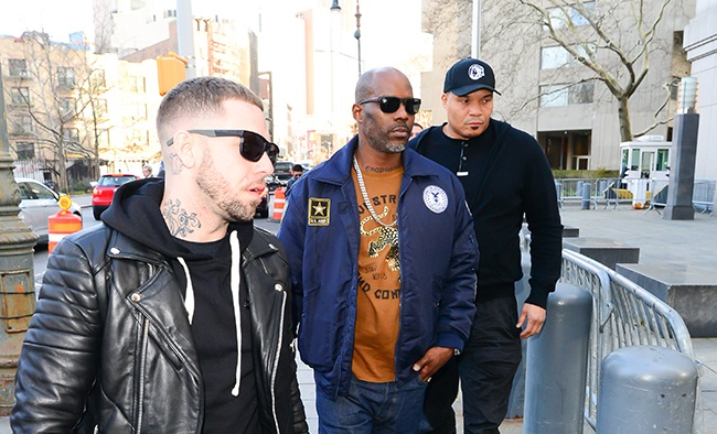 Rapper DMX photographed on 30 November 2017 in New York City.  (Photo: Raymond Hall/GC Images)