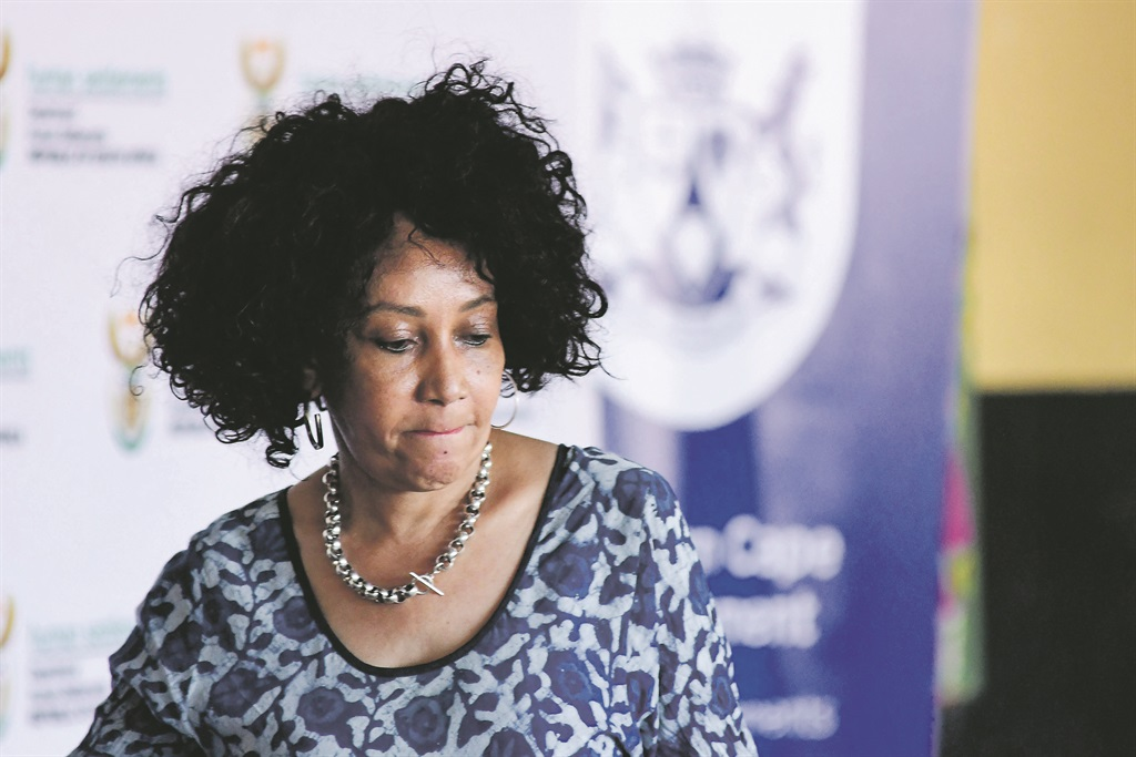 Human Settlements, Water and Sanitation Minister Lindiwe Sisulu. Picture: Gallo Images/Darren Stewart