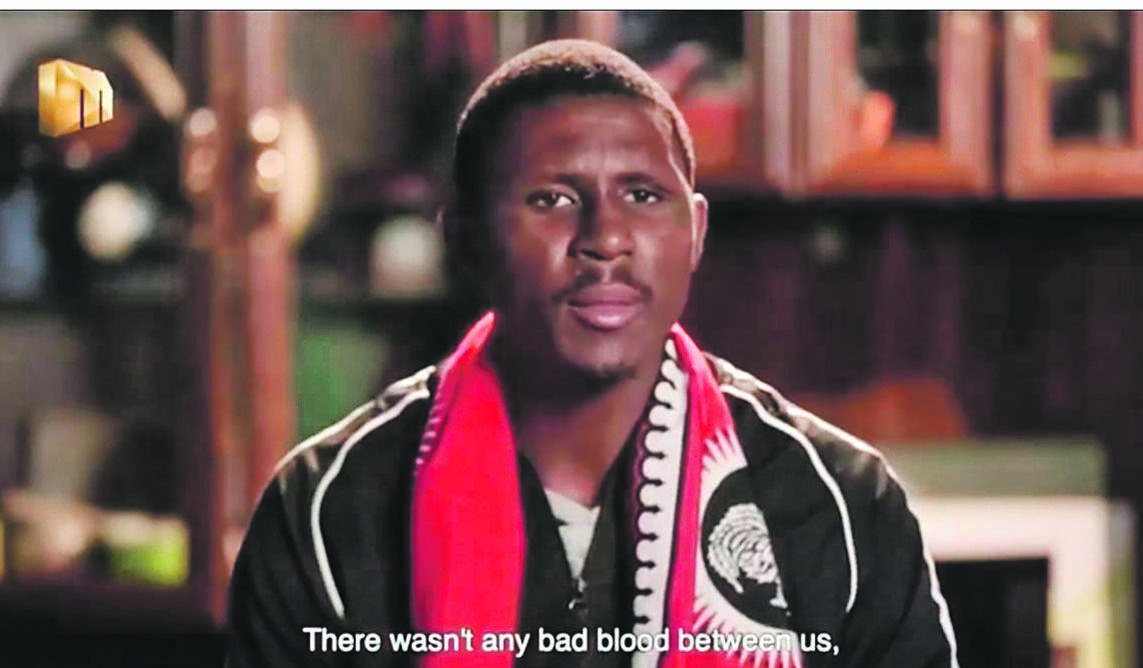 Bongani Biyela is in trouble with the law