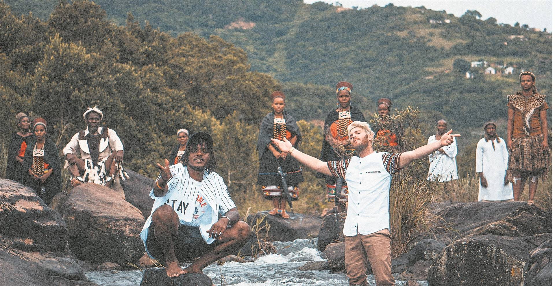 Singers Kyle Deutsch and Aewon Wolf share their love of KZN in a new song and music video.