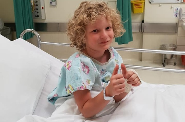 Jayvan Janse van Rensburg was diagnosed with an aggressive form of bone cancer in 2016. (Photo: FACEBOOK)
