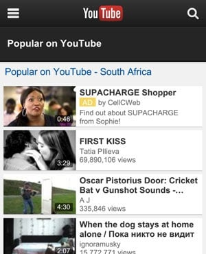 YouTube has emerged as a platform for social activism. (Duncan Alfreds, News24)