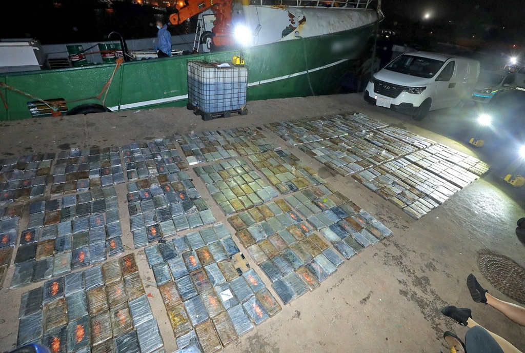 Police have seized a R583 million cocaine shipment