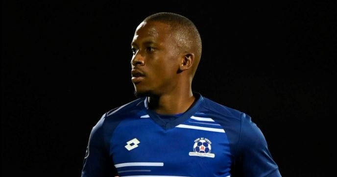 Maritzburg United's Thabiso Kutumela scored from the penalty spot in Tuesday's win against Black Leopards.