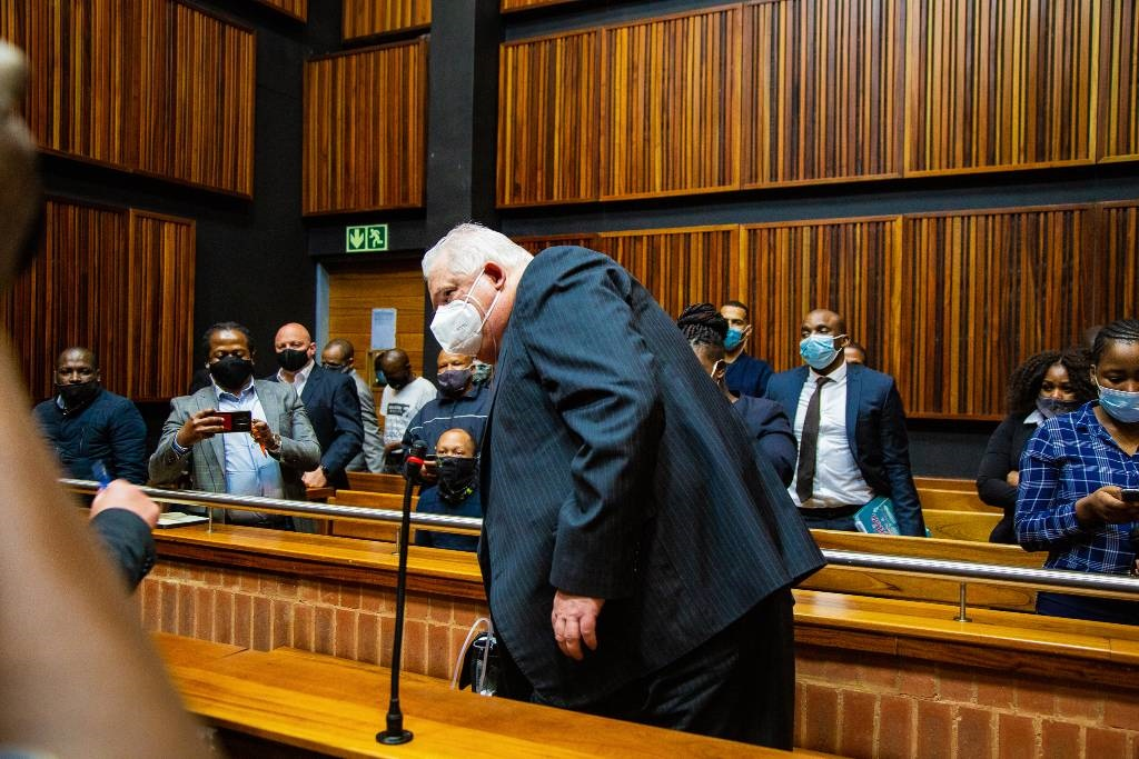 Former Bosasa COO Angelo Agrizzi appears at Palm Ridge Magistrate's Court on corruption and fraud case on October 14, 2020