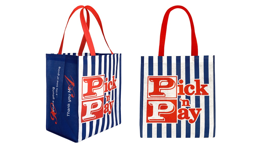 Pick n Pays throws it back to the 1970s with new shopping bag design – here's why