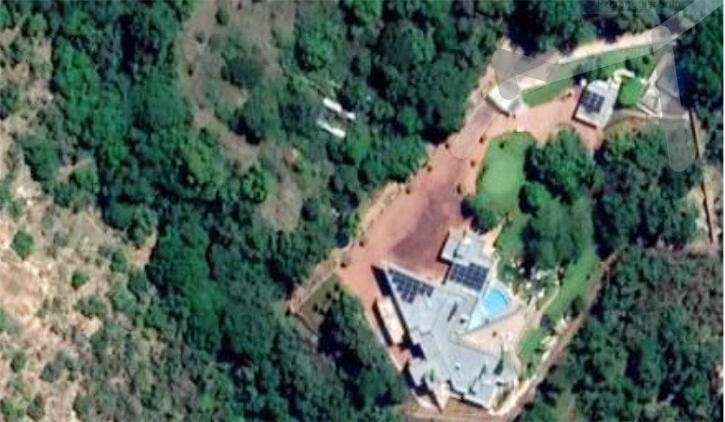 Google satellite view of a luxury house in North West which was partly paid with money that was supposed to be used to build an old age home.