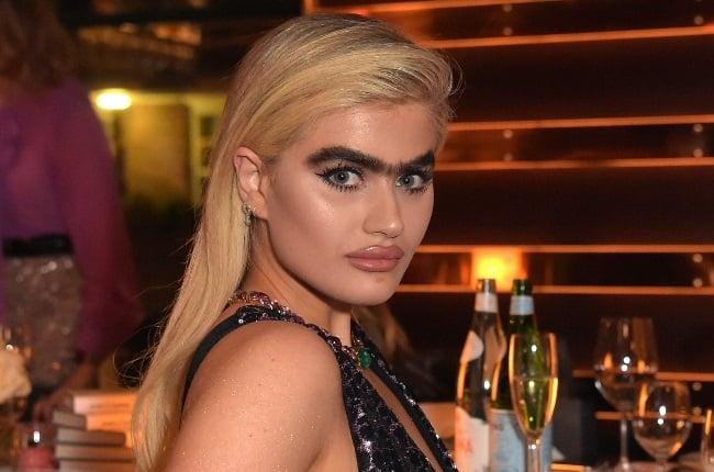 Sophia Hadjipanteli proudly rocks her bushy monobrow. (Photo: Gallo Images/ Getty Images)