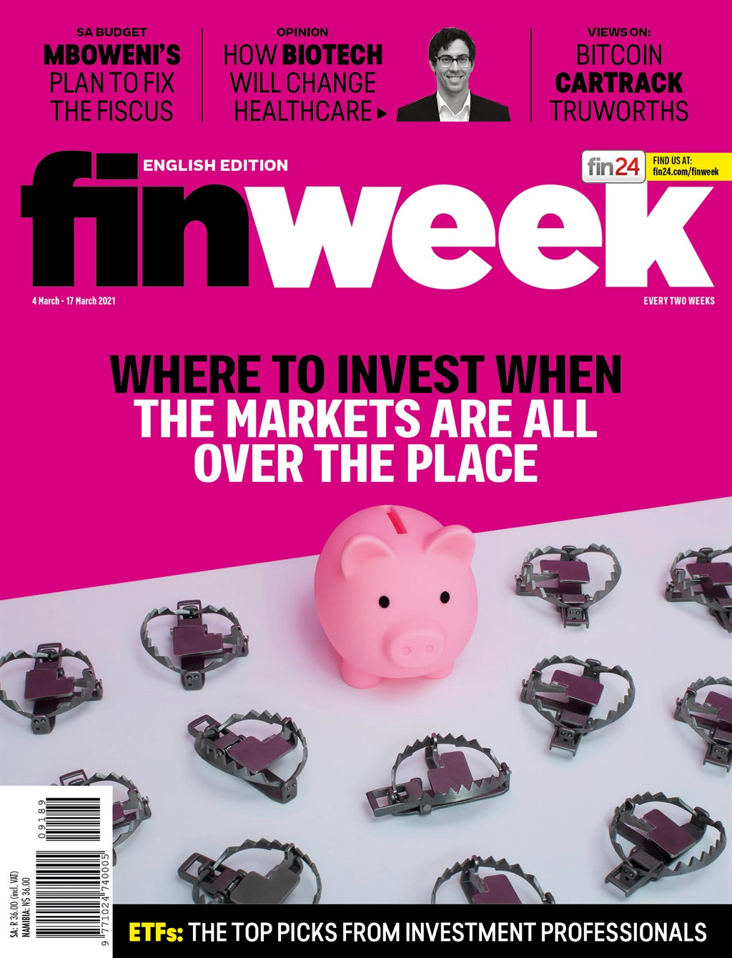 finweek, cover, march