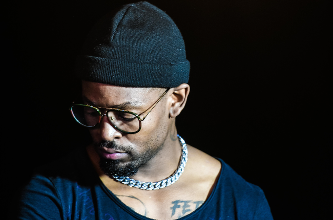 Prince Kaybee at a private listening session for his new album, The 4th Republic.