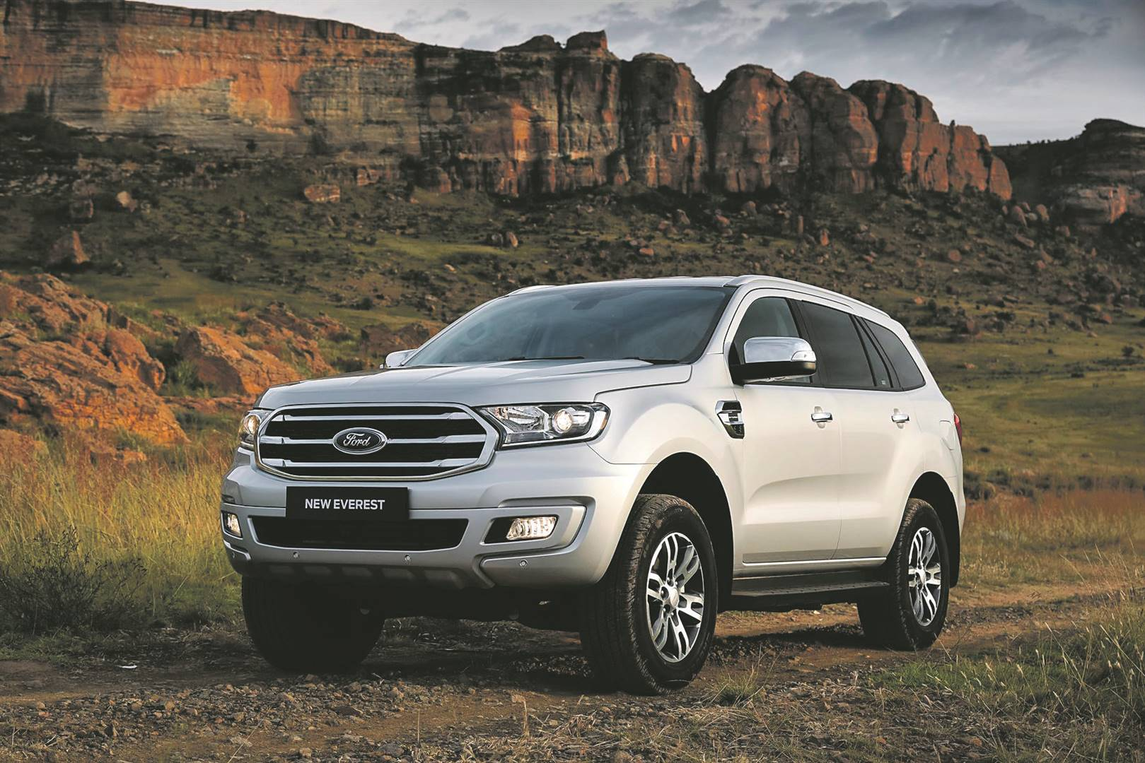 Ford Everest XLT. Picture: Supplied
