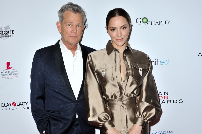 Actress and singer Katharine McPhee admits her 35-year age gap with David Foster was a concern for her – but more because of the public perception. (CREDIT: Gallo Images / Getty Images)