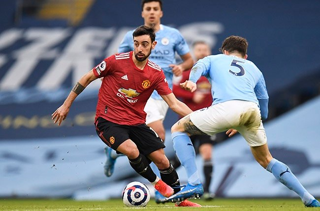 Manchester United ace Bruno Fernandes.(Photo by Peter Powell - Pool/Getty Images)