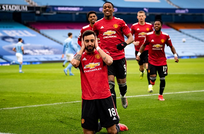 Bruno Fernandes.(Photo by Ash Donelon/Manchester United via Getty Images)