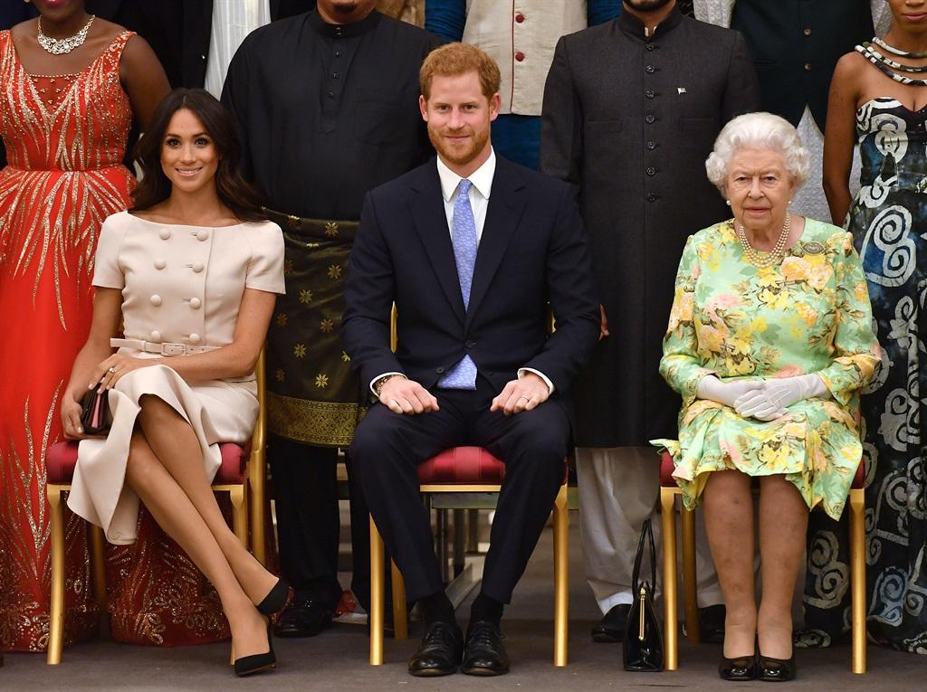 LONDON, ENGLAND - JUNE 26: Meghan, Duchess of Suss