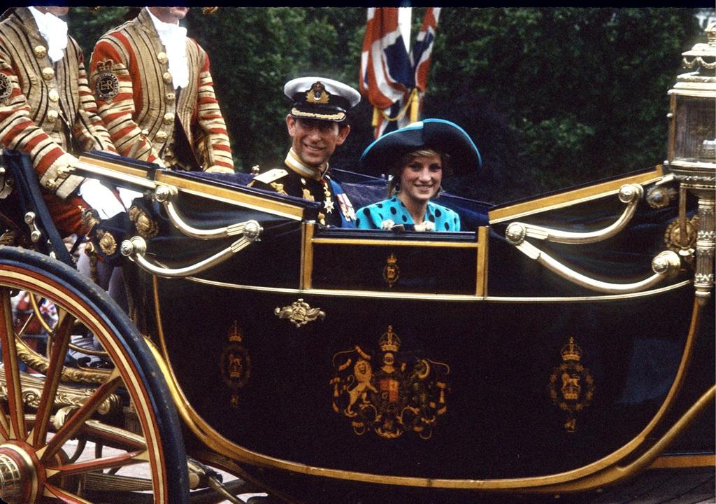 London July 23, 1986 Princess Diana and Prince Cha