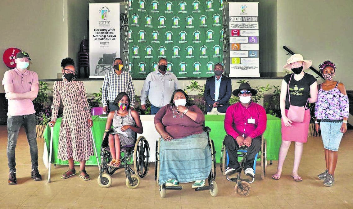 PHOTO: suppliedBusiness training programme for learners living with disabilities was officially launched at Poyinande Hall on Tuesday.