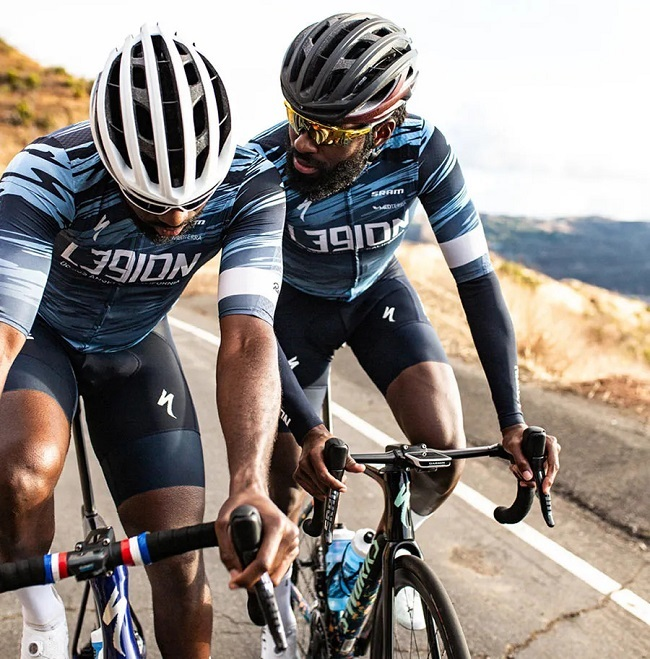 Road riding is all about aero and teamwork, with helmet airflow an important part of that (Photos: Specialized)