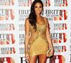 Alesha Dixon shimmers in gold.