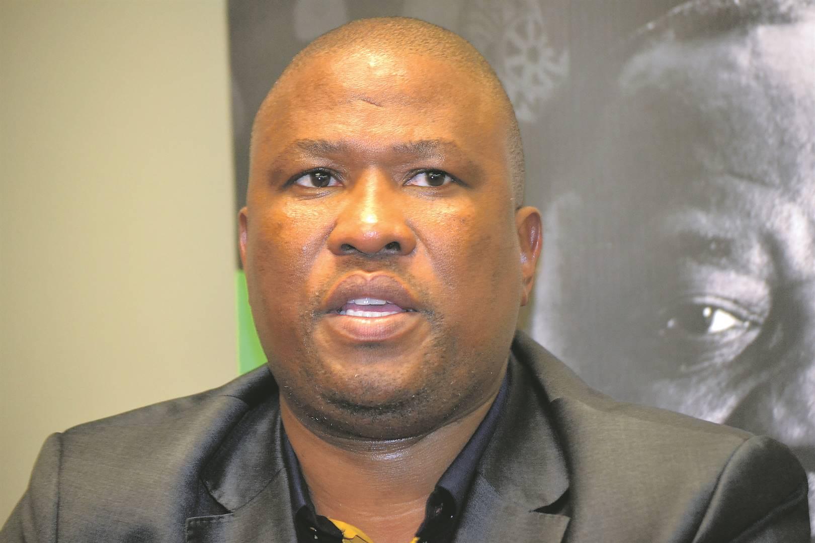 Premier Oscar Mabuyane. (Photo by Luvuyo Mehlwana)
