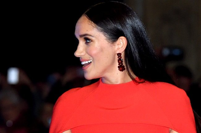 Meghan, Duchess of Sussex accompanied by Prince Harry, Duke of Sussex attends the Mountbatten Festival of Music at Royal Albert Hall on March 07, 2020 in London, England. (Photo by Karwai Tang/WireImage)