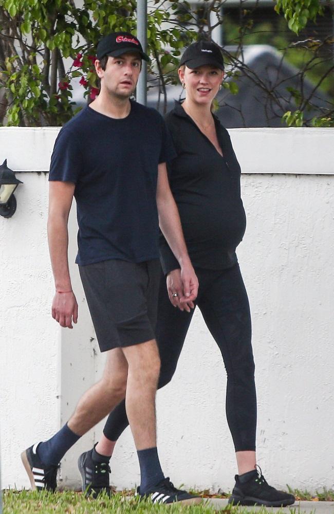 Karlie Kloss and Joshua Kushner (CREDIT: TheImageDirect.com / Magazine Features)