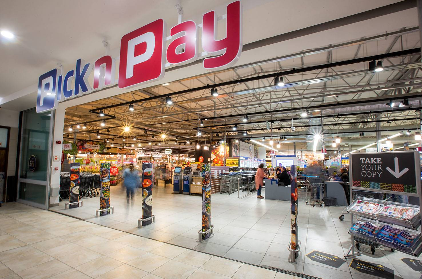 Pick n Pay has agreed to immediately allow all small businesses, as well as black-owned supermarkets, to trade in malls where it has exclusivity agreements.