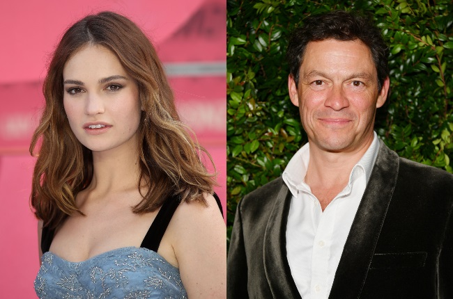 Seven months after Lily James and Dominic West's PDA made headlines, the Cinderella actress is addressing the scandal for the first time. (CREDIT: Gallo Images / Getty Images)