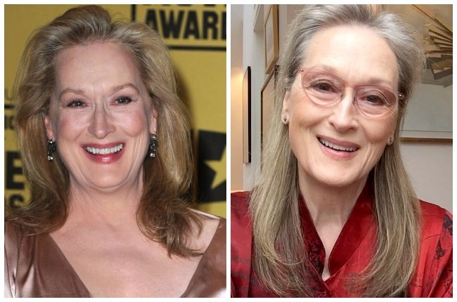 """2010 vs NOW: """"Ageing is a gift. I've seen too many"""