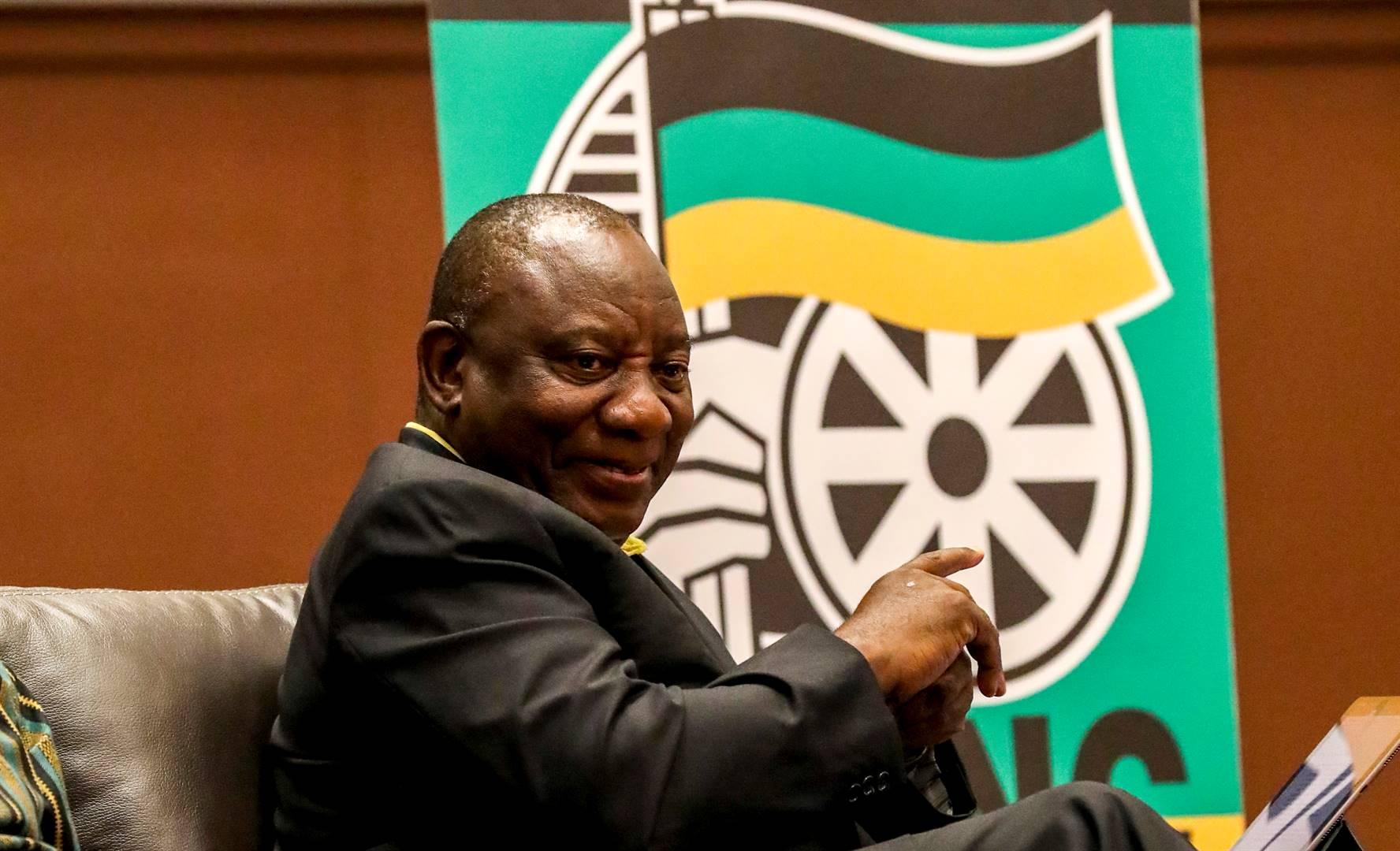 President Cyril Ramaphosa. Picture: Jaco Marais