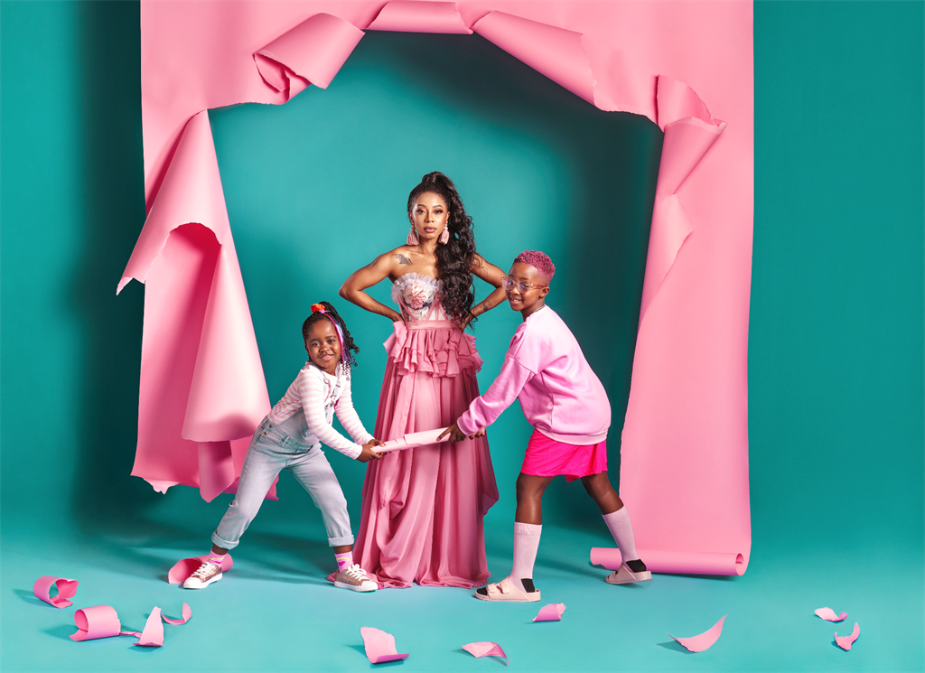 The second season of Kelly Khumalo's reality show 'Life with Kelly Khumalo' is set to air from 13 May 2021 on Showmax. Image: supplied