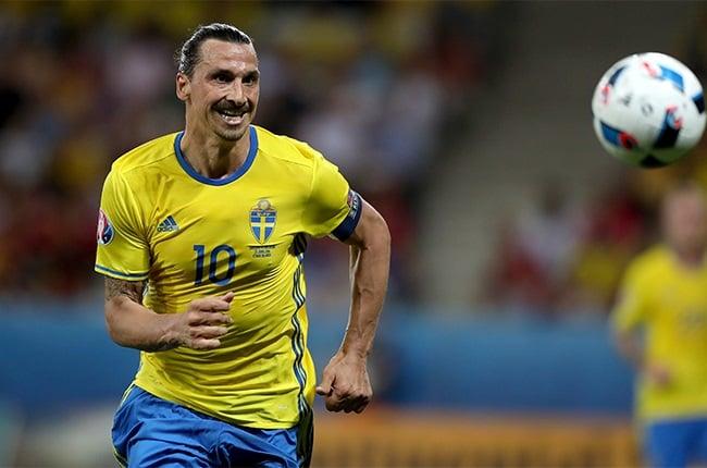 Sweden's Zlatan Ibrahimovic.