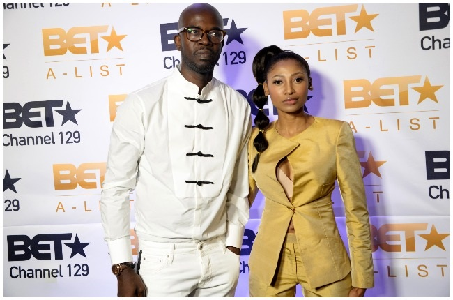 Black Coffee and Enhle Mbali in happier times.