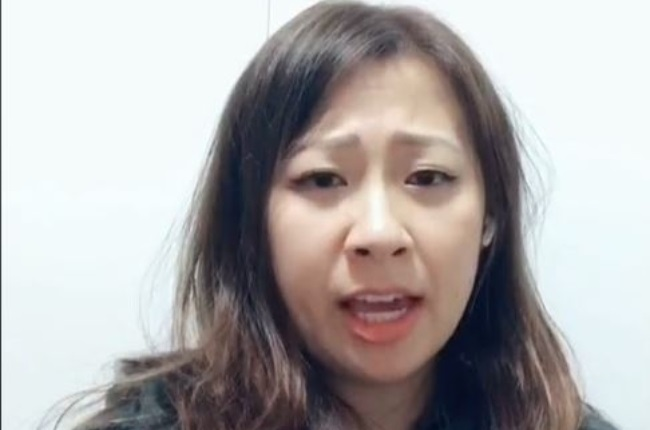 Angie Yen is believed to have Foreign Accent Syndrome after waking up with an Irish accent. (Photo: TIKTOK)
