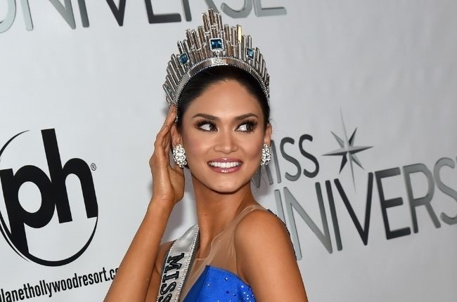 Miss Philippines 2015, Pia Alonzo Wurtzbach, poses for photos after winning the 2015 Miss Universe Pageant at Planet Hollywood Resort & Casino on 20 December, 2015 in Las Vegas, Nevada.