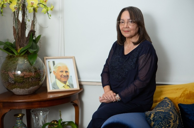 Patricia de Lille is mourning the loss of her husband, Edwin de Lille. He died in February after a long illness. (Photo: MISHA JORDAAN)