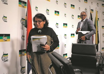 Duarte: I am not taking Magashule's position