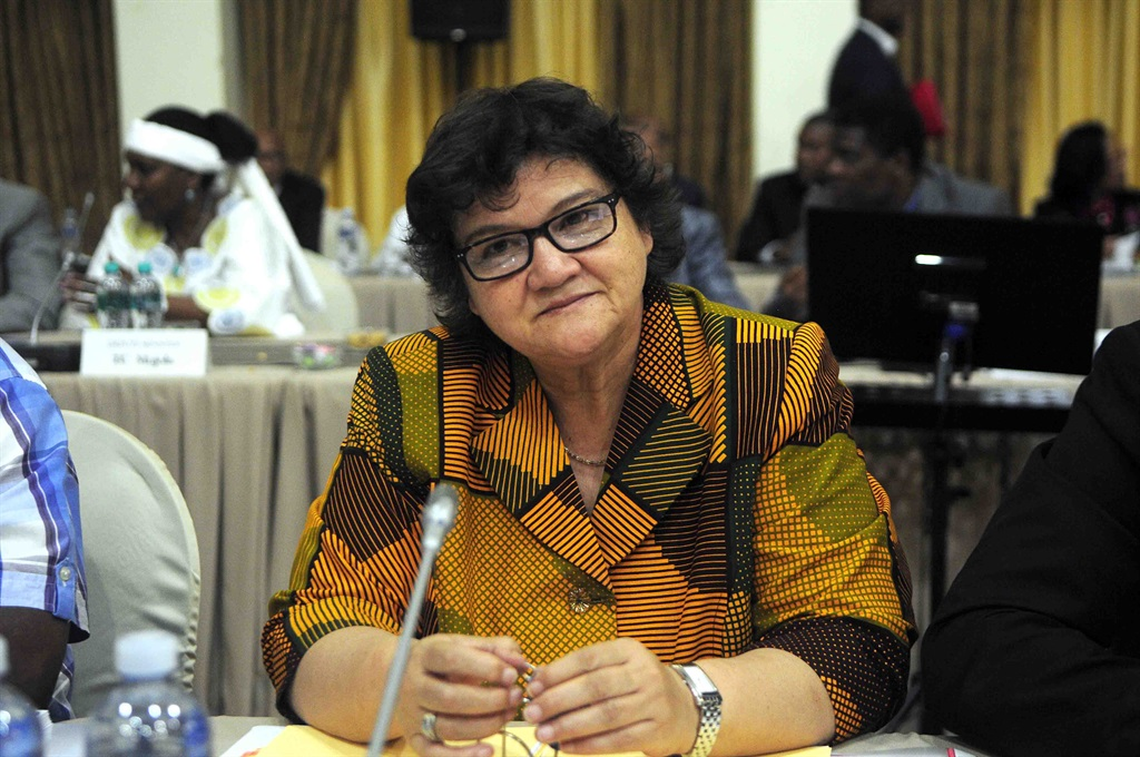 Lynne Brown says she did not know that her then secretary Kim Davids was extensively interacting with an email address linked to Salim Essa. Photo G:allo Images / Sowetan / Thulani Mbele)