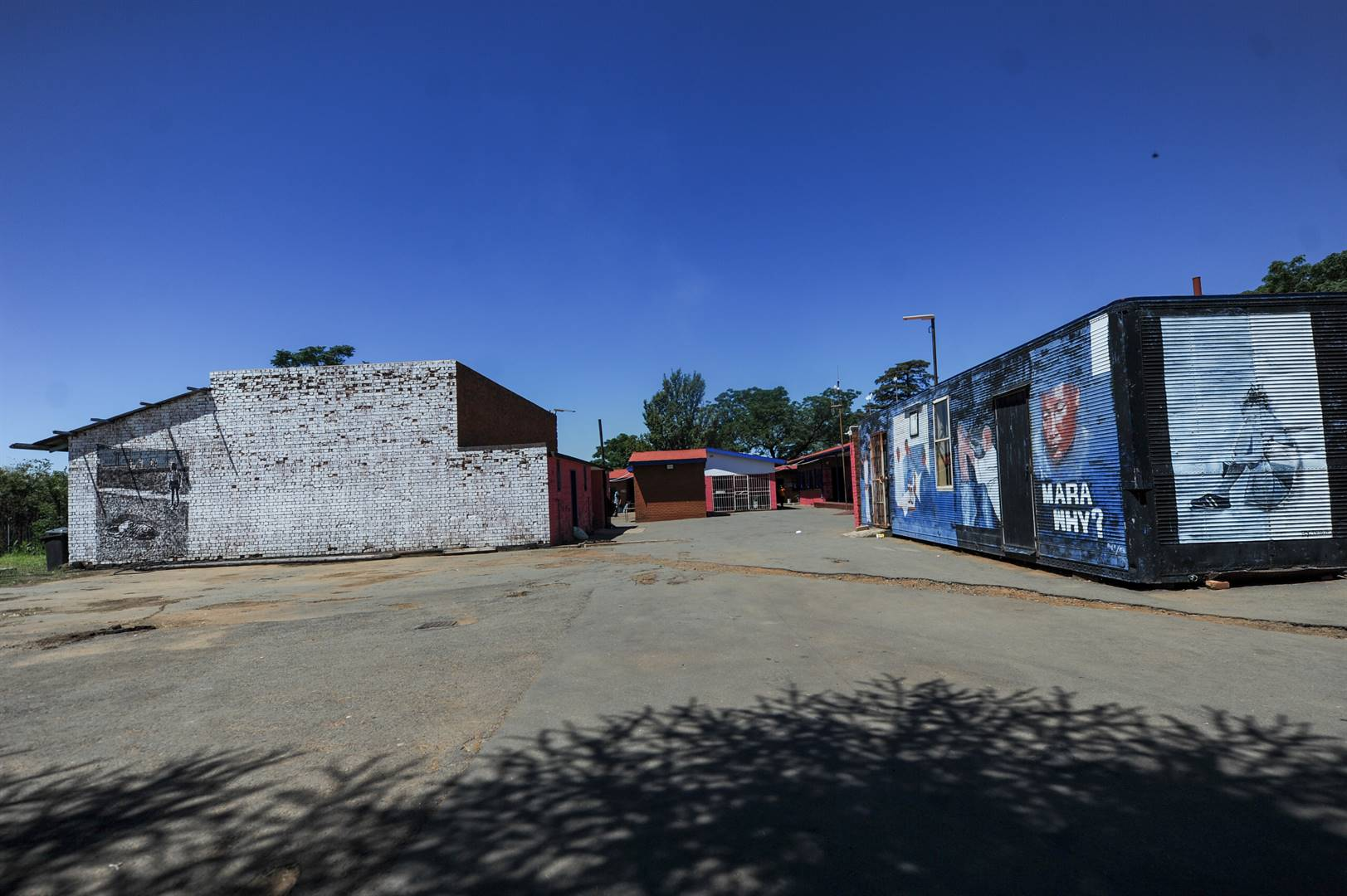 Sharpeville's Old Police Station which is now a heritage site serves the people of the community. It caters to students who want to learn Business, Life Skills and Computer entrepreneur. Station is were police opened fire to protesting people against carrying a pass book killing 69 and injuring 180. Picture: Rosetta Msimango