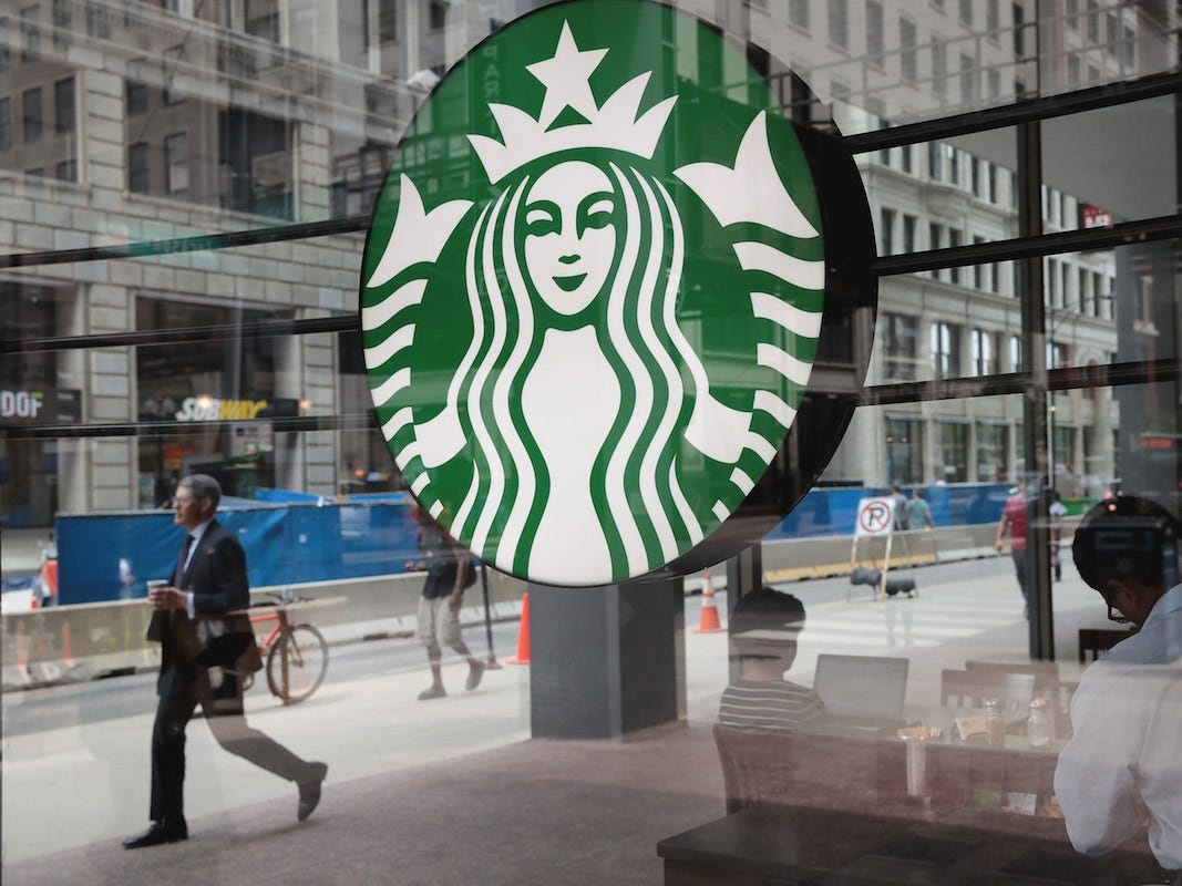 Starbucks will offer reusable cups.